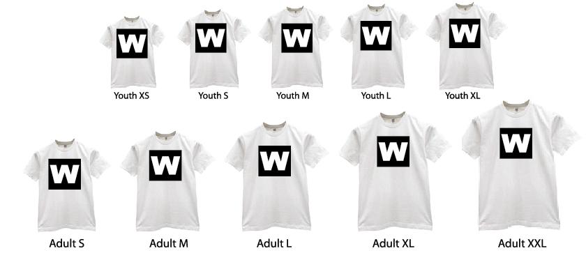 WestCoast Shirtworks Print Area Size | WestCoast Shirtworks